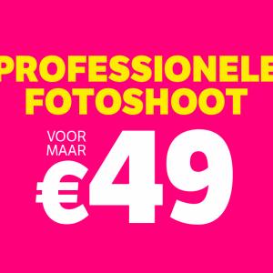 flair fotoshoot voor maar €49